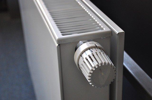 plochý radiátor