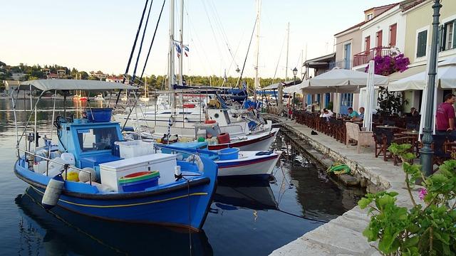 Procestujte řecké ostrovy v Jónském moři