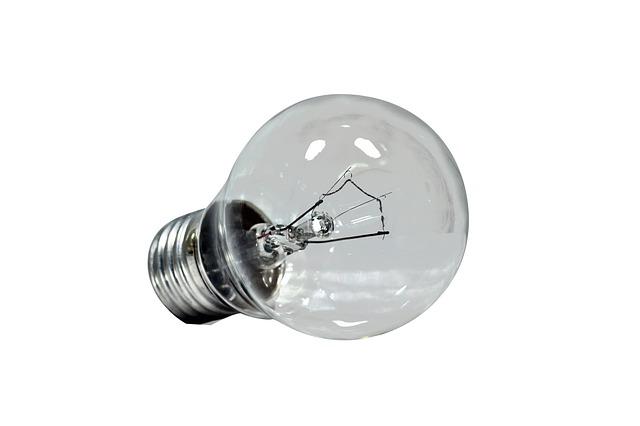 síla žárovky