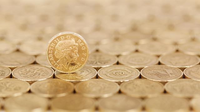 královna na mincích