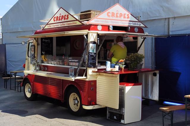 Slibná budoucnost pojízdných kaváren a dalších mobilních stravovacích zařízení?